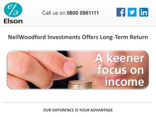 NeilWoodford Investments Offers Long-Term Return