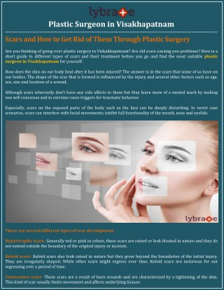 Plastic Surgeon in Visakhapatnam - Lybrate