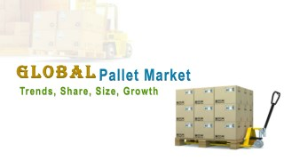Global Pallet Market Trends, Share, Size, Growth, Opportunity and Forecast 2017-2022