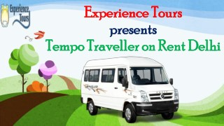 Tempo Traveller on Rent in Delhi NCR