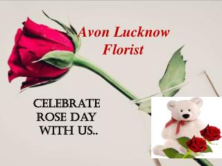 Rose day flower Delivery by Avon Lucknow Florist