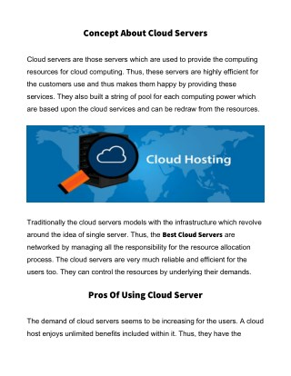 VPS Cloud Server Hosting