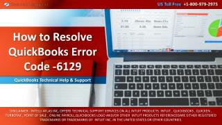 How to Resolve QuickBooks Error Code -6129