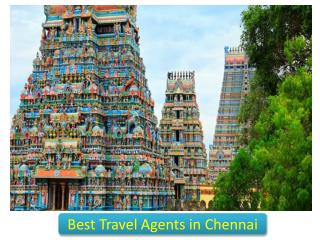 Contact the Popular Travel Agents in Chennai for Best Travel Related Solutions