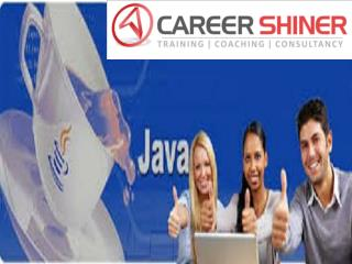 Best training institute for java in noida |CARRER SHINER
