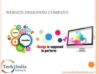 Website Designing Company in Delhi | Tech India Infotech