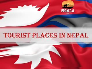 Amazing Tourist places in nepal