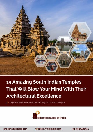 19 Famous South Indian Temple