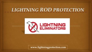 Commercial Lightning Rod Protection