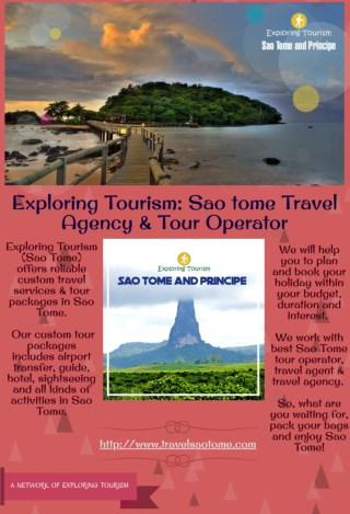 Exploring Tourism: Sao tome Travel Agency & Tour Operator