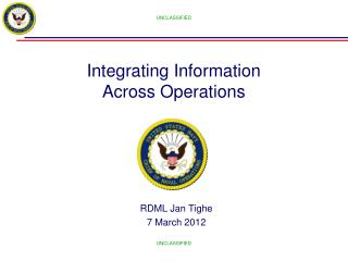 Integrating Information Across Operations
