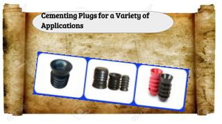 Cementing Plugs for a Variety of Applications