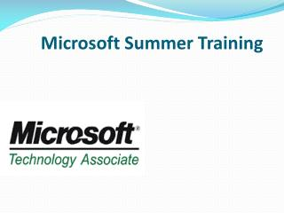 summer trainning in core java