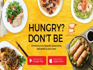 Online Food Delivery In Christchurch