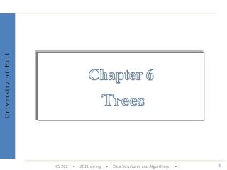 Chapter  6 Trees