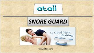 Snore guard – The Best Oral Appliance Therapy