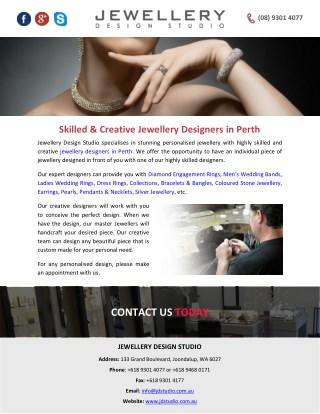 Skilled & Creative Jewellery Designers in Perth