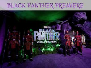 'Black Panther' Premiere Gloriously Celebrates African Royalty