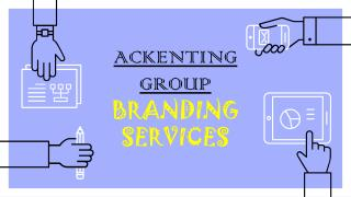 Ag branding services for boosting company name.