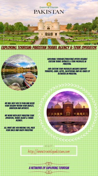 Exploring Tourism: Pakistan Travel Agency & Tour Operator