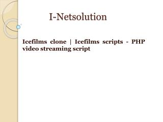 Icefilms clone | Icefilms scripts - PHP video streaming script