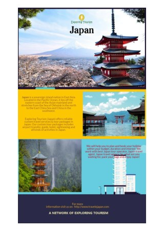 Exploring Tourism:  Japan Tour Operator & Japan Travel Agent
