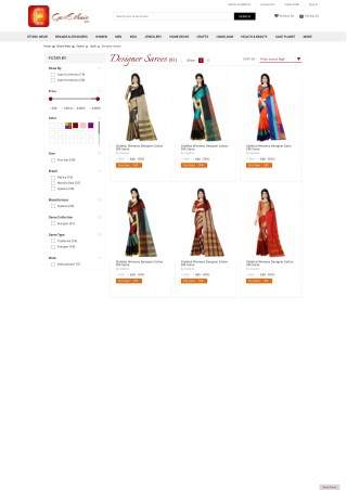 Go4Ethnic explore range of sarees with best offer