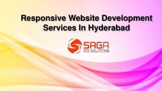 Responsive Web Design Company in Hyderabad, Responsive Website Development Services Hyderabad – Saga Bizsolutions