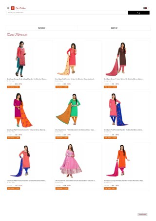 Go4Ethnic-Buy Kurta Kurti Fabric with best offer