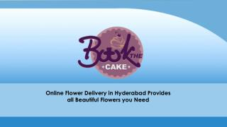 Online flower delivery in Hyderabad provides all beautiful flowers you need