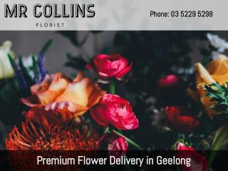 Premium Flower Delivery in Geelong