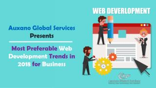 Most Preferable Web Development Trends in 2018 for Business