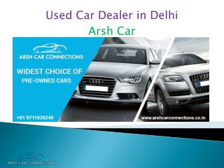 Used Car Dealer in Delhi