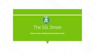 Secure your website and customer data with comodo positive SSL