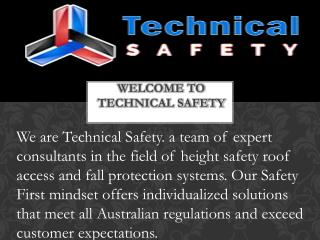 Technicalsafety.com.au : Height Safety Sydney