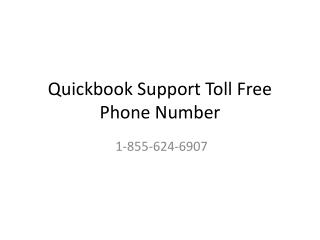 Quickbooks Support Toll Free Phone Number