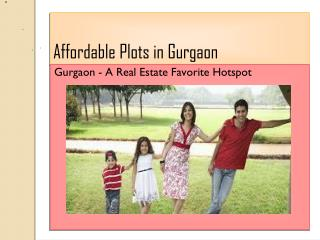Affordable plots in gurgaon@9212306116