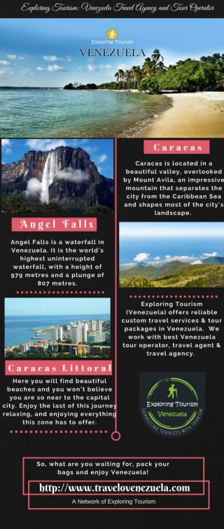Exploring Tourism: Venezuela Travel Agency & Tour Operator
