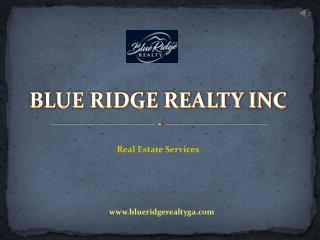 Houses for Sale in Blue Ridge, GA - Blue Ridge Realty Inc