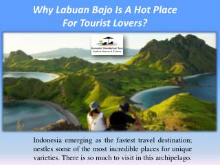 Why Labuan Bajo Is A Hot Place  For Tourist Lovers?