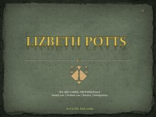 Divorce Attorney in Tampa - Lizbeth Potts, P.A.