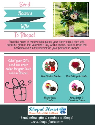 Send Flowers Gifts To Bhopal