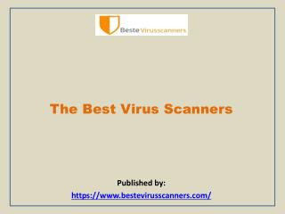 The Best Virus Scanners
