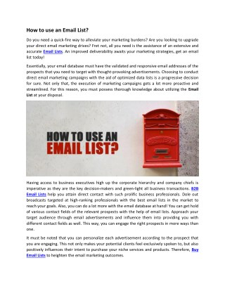 Email Lists | Buy Email Lists | Pioneer Lists