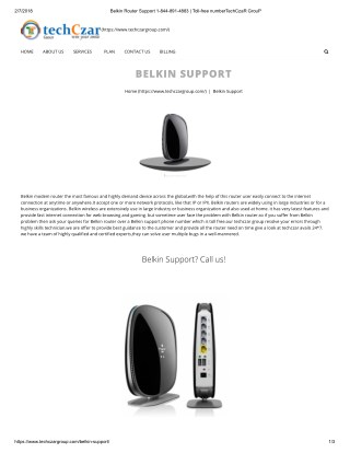 how to get belkin customer service 1844-891-4883 number