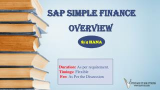 SAP Simple Finance PPT