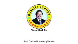 Buy Home Appliances online India