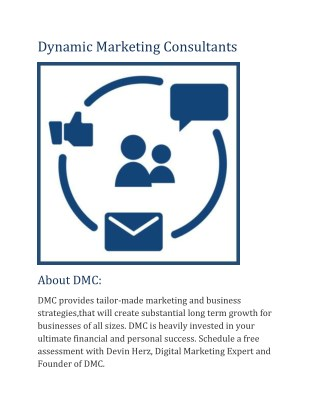 Dynamic Marketing Consultants