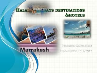 Halal Holiday Packages