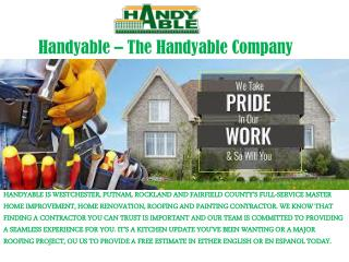 Top Best Handyman Services in Port Chester New York